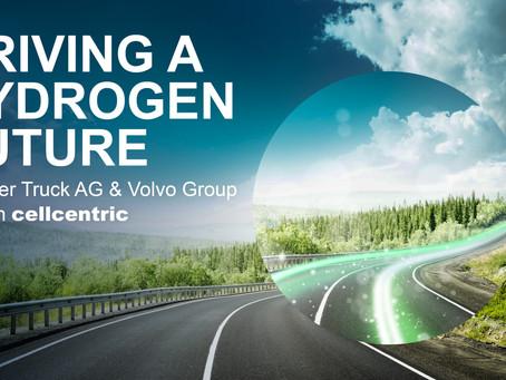 Caminhões: Daimler e Volvo lançam joint venture de células de combustível a hidrogênio