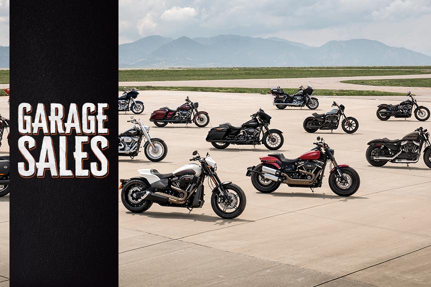 Harley-Davidson promove Garage Sales no Brasil