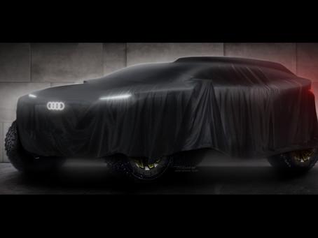 Audi competirá no Rali Dakar a partir de 2022 com veículo eletrificado