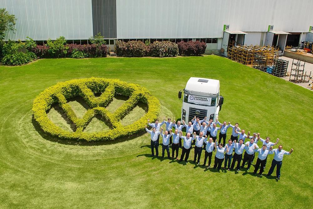 A alemã Kroschu é a mais nova parceira da Volkswagen Caminhões e Ônibus na fábrica de Resende