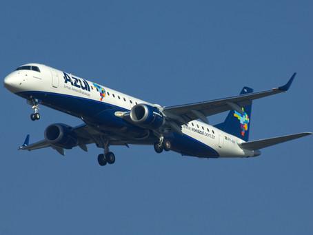 Azul entra na ponte aérea com 34 operações diárias a partir de 29 de agosto