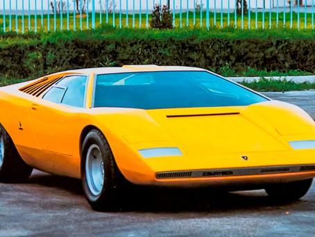 Clássico: Lamborghini Countach LP 500 completou 50 anos