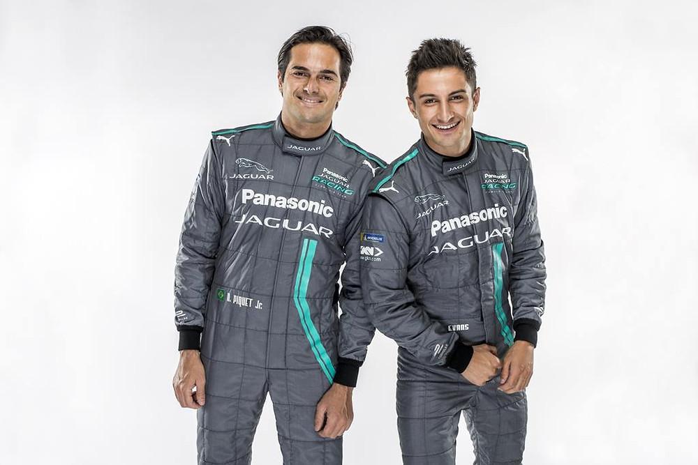 Panasonic Jaguar Racing anuncia o brasileiro Nelsinho Piquet como novo piloto da equipe para a Fórmula E