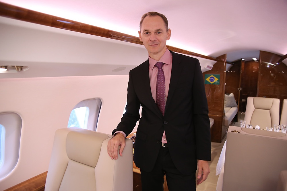 Stephane Leroy, Vice-Presidente de Vendas para a região da América Latina da Bombardier