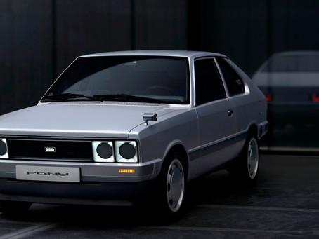 Hyundai Motor apresenta o Heritage Series PONY, reunindo o passado com o futuro da marca