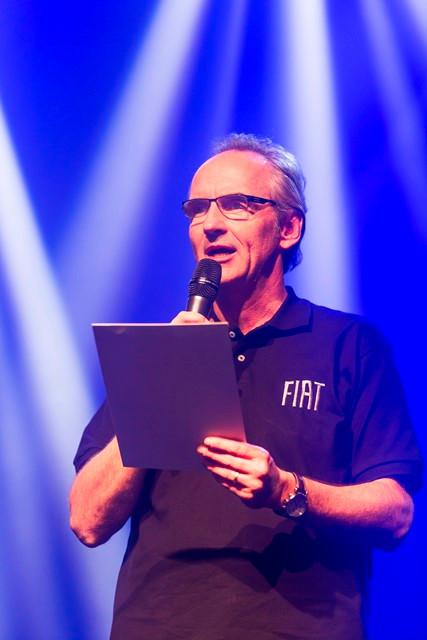 Stefan Ketter, presidente da FCA para a América Latina, abre o evento de lançamento do Fiat Toro.