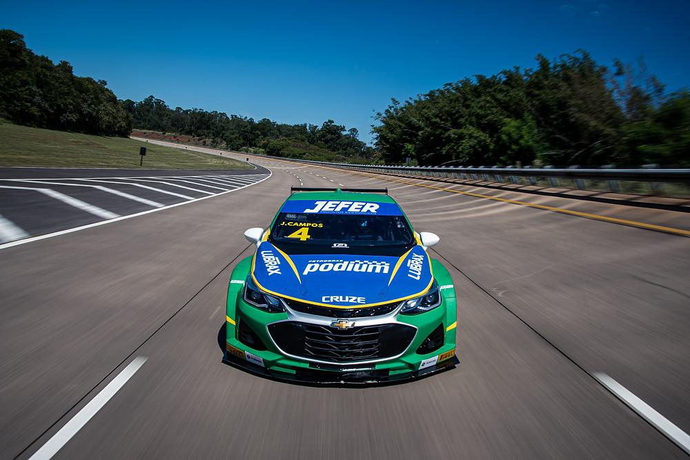 Stock Car renova patrocínio com BR por três anos