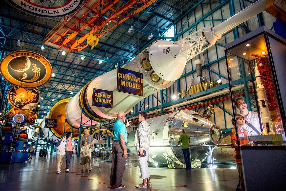 Complexo da NASA abre espaço para casamentos e eventos corporativos