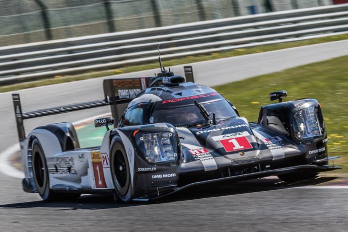 Porsche domina classificação do WEC em Spa na Bélgica.