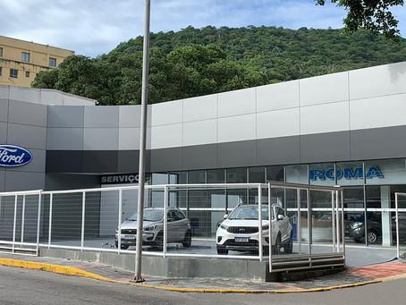 Ford inaugura a concessionária Roma Botafogo no Rio de Janeiro