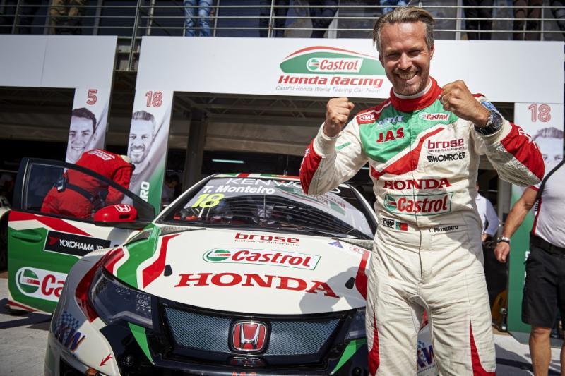 WTCC: Tiago Monteiro e a Honda começam o ano com Pole Position em Marraquexe