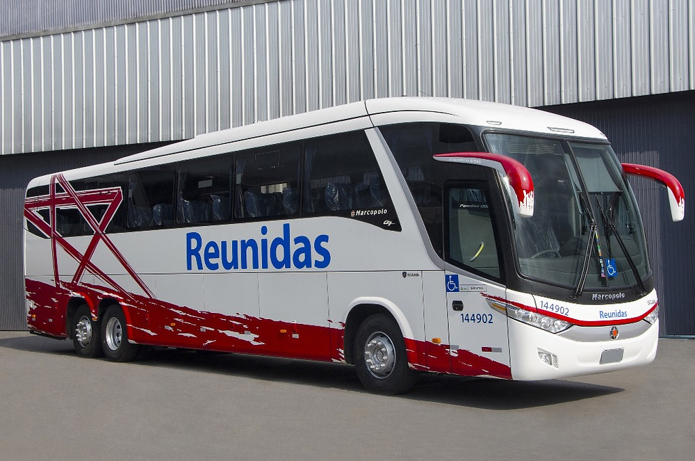 Reunidas Paulista adquire seis novos ônibus Paradiso 1200 da Marcopolo