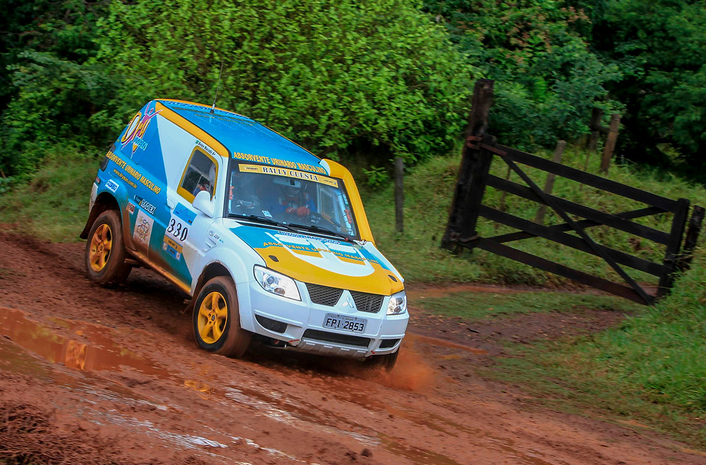 Celso Macedo passa bem após incidente em salto no Rally Cuesta