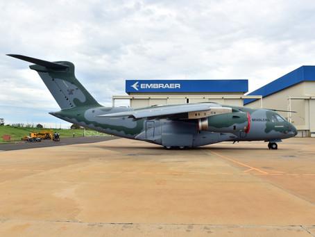 Embraer entrega quarta aeronave C-390 Millennium à Força Aérea Brasileira