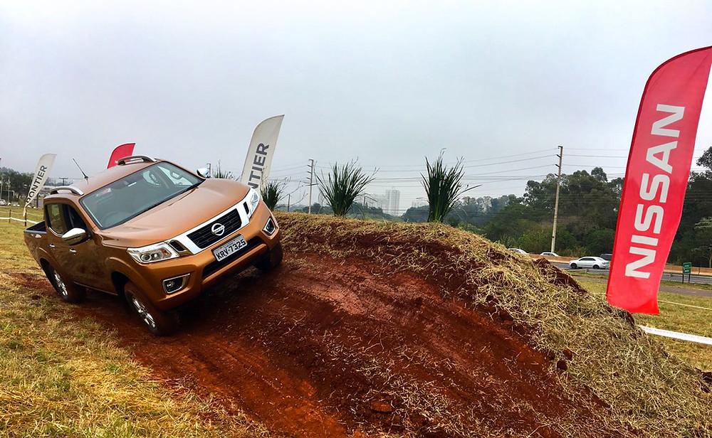 Nissan Frontier Experience faz sua estreia nacional em Londrina