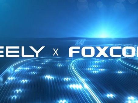 Expressas: Geely e Foxconn fazem parceria para produção de carros elétricos