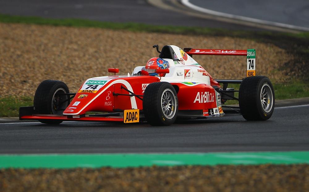 F4: Enzo Fittipaldi conquista pódio na etapa de abertura da F4 Alemã e é o vice-líder do campeonato