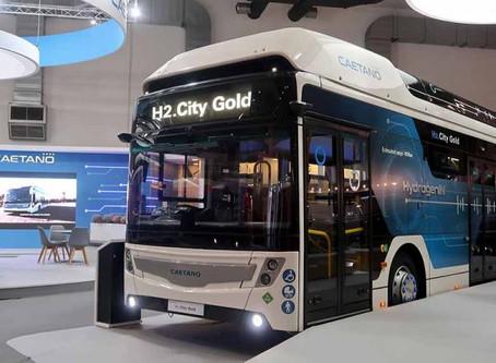 Ônibus: Empresa portuguesa CaetanoBus vende oito veículos a hidrogênio para Barcelona