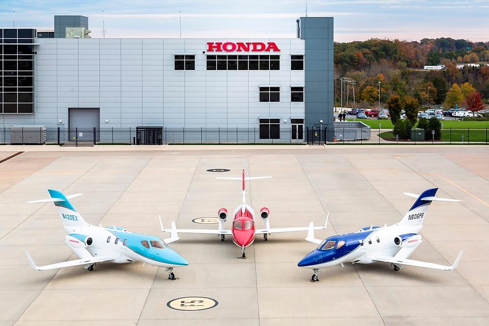 HondaJet é o jato mais entregue em sua categoria pelo segundo ano consecutivo