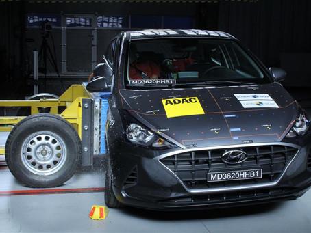 Após novo teste do Latin NCAP, Hyundai HB20 tem nota preocupante no impacto lateral