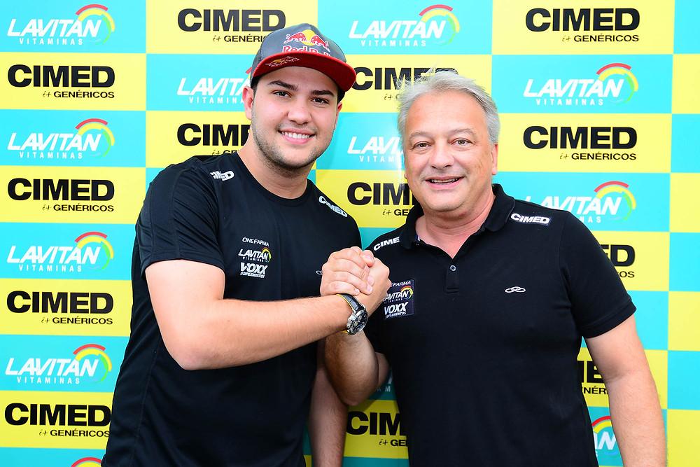 Felipe Fraga e William Lube