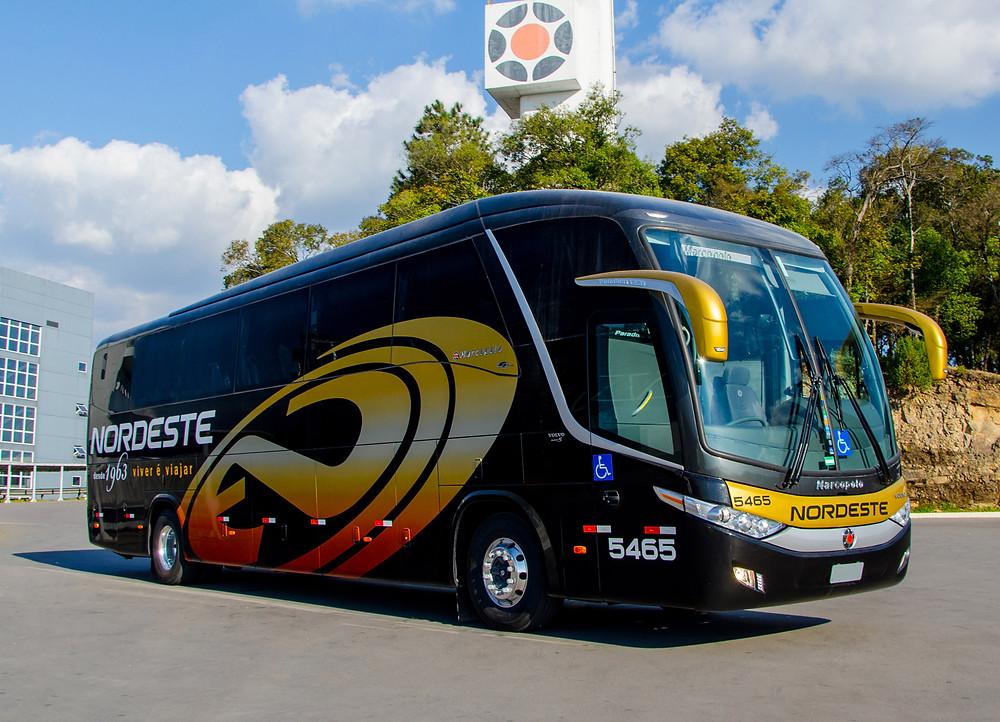 Nordeste Transportes investe em ônibus rodoviários de última geração