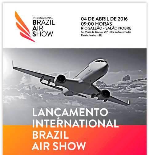 International Brazil Air Show (IBAS) vai ser apresentado na próxima segunda feira