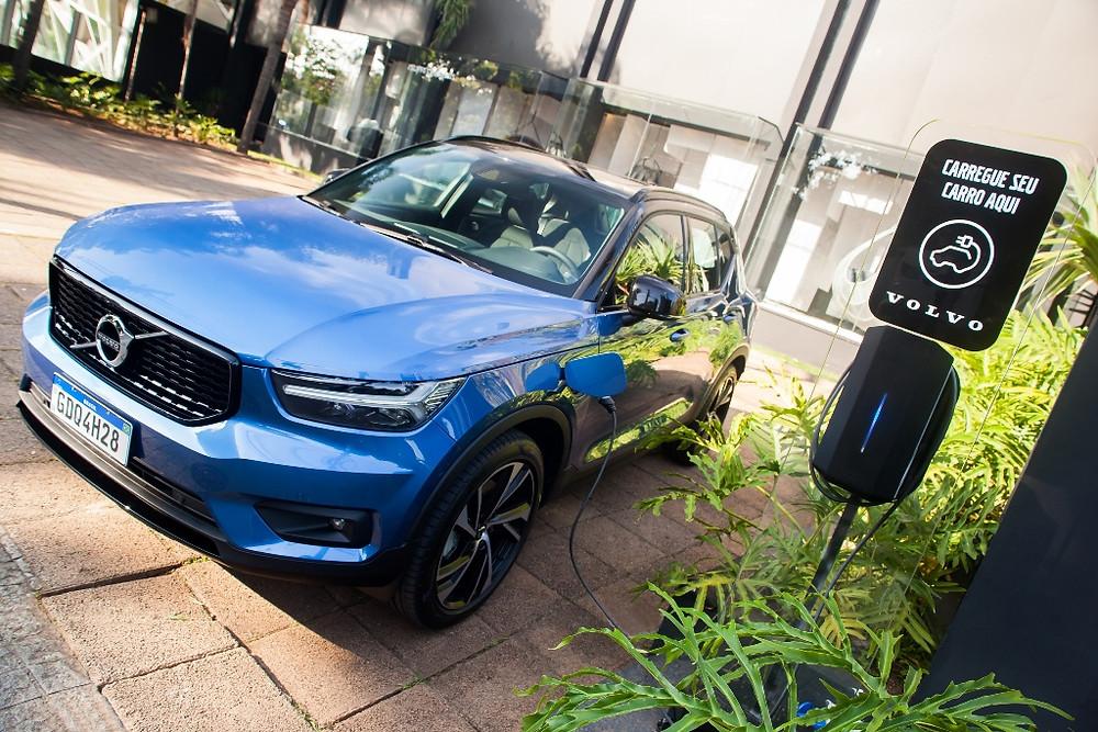 Eletropostos da Volvo Car em todo o Brasil agora estão disponíveis no Waze