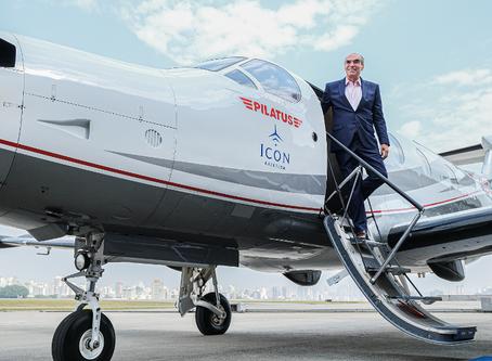 De Pilatus PC-12, Icon Aviation e Fly Adam vendem assentos na ponte aérea Rio-São Paulo