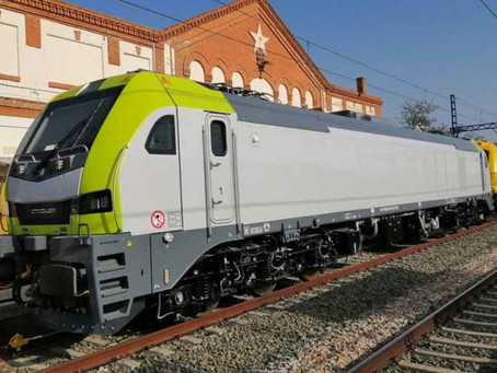 Ferrovia: Captrain inicia testes de homologação das locomotivas Euro6000 da Stadler em bitola UIC