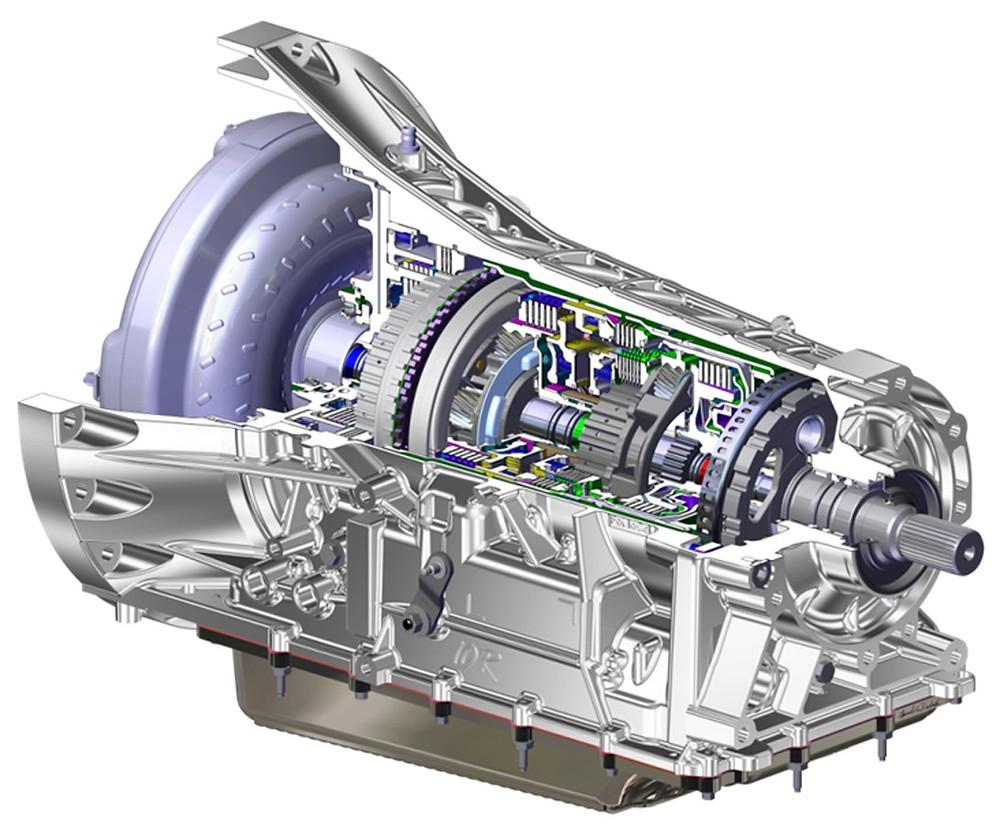 transmissão automática de 10 velocidades da Ford