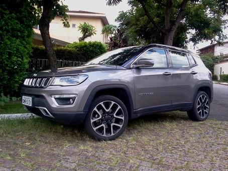 Avaliação - Jeep Compass Limited, com motorização turbo diesel e 4x4, versão é ótima proposta