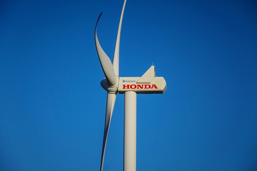 Honda inaugura décimo aerogerador em seu parque eólico e conclui expansão da operação