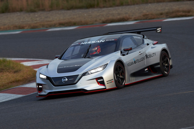 LEAF NISMO RC: Braço esportivo da Nissan desenvolve veículo de competição completamente elétrico