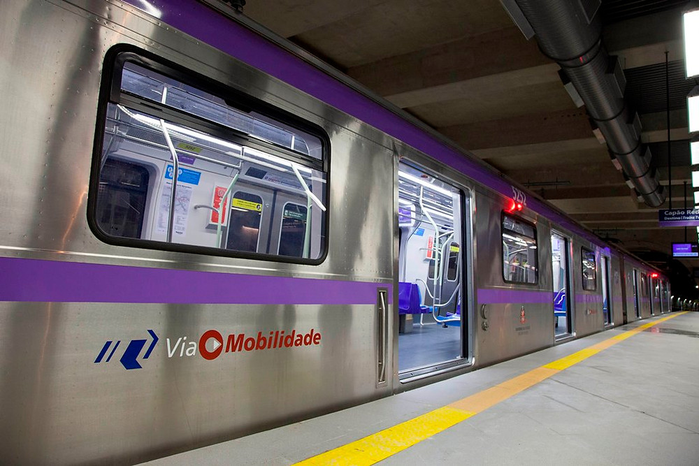 Ferrovia: Linha 5-Lilás leva passageiros a diversos parques e instituições culturais de São Paulo