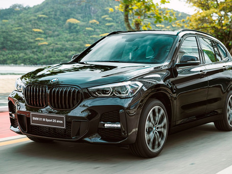 BMW apresenta versão especial do X1 celebrando 25 anos da marca no Brasil