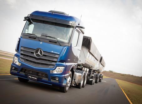 Mercedes-Benz vende primeiro Novo Actros por meio do showroom virtual