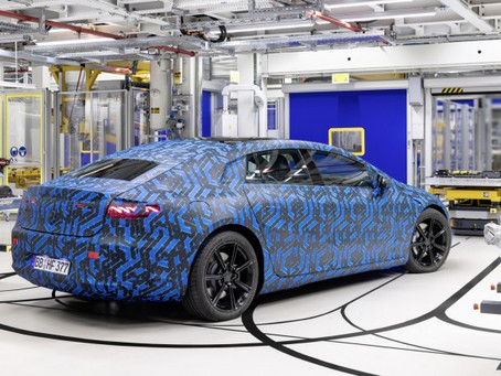 Expressas: Elétrico de luxo da Mercedes, EQS será lançado em 2021