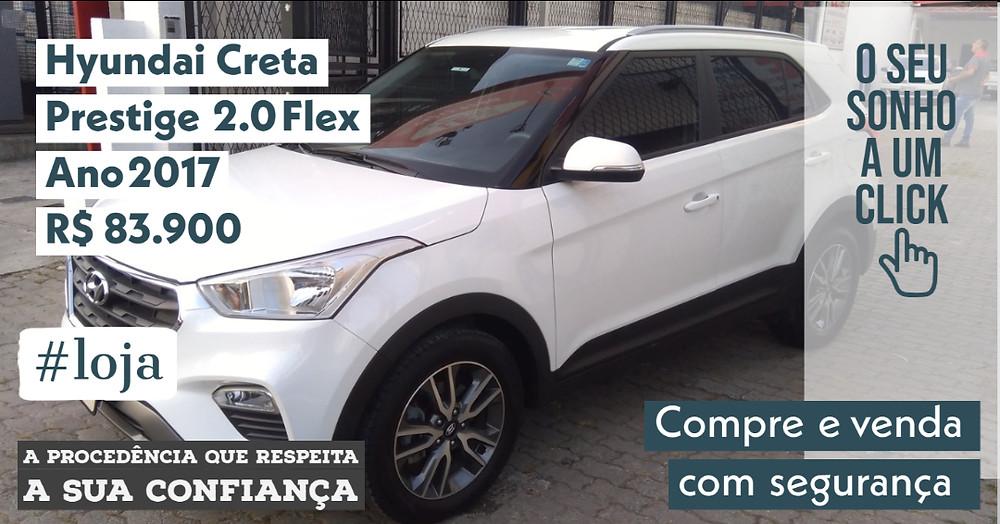 A #LOJA PUBLIRACING - Hyundai Creta Prestige 2.0 Flex