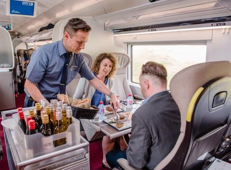 Ferrovia: Eurostar recupera serviço de catering a bordo de seus trens