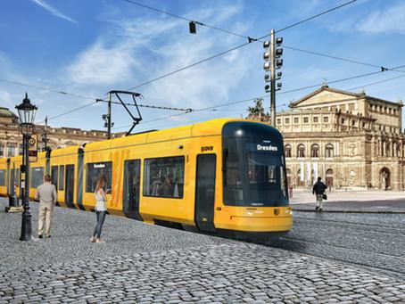 Bombardier fornecerá trinta bondes para a cidade alemã de Dresden