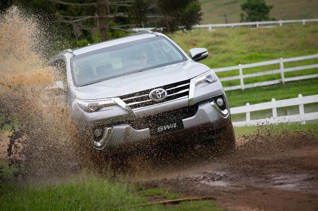Toyota SW4, referência em segurança!