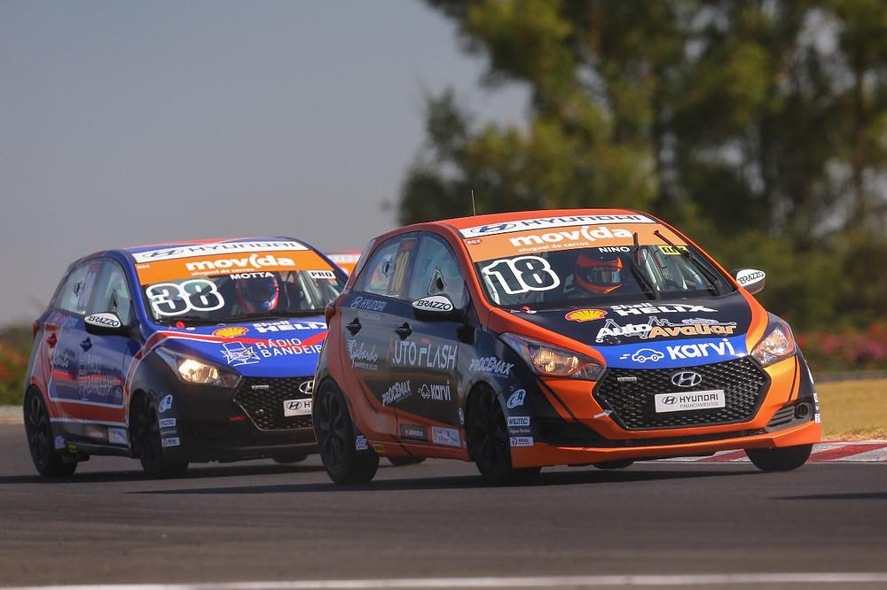 Copa Shell HB20: Bruno Testa, Daniel Nino e Enzo Gianfratti vencem na abertura da temporada