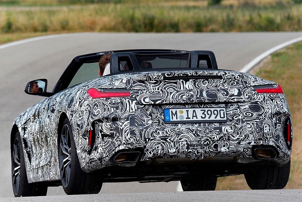 Novo BMW Z4 em intensos testes antes de ganhar as ruas