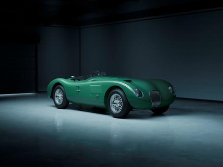 Jaguar amplia família de réplicas no 70º aniversário do C-Type