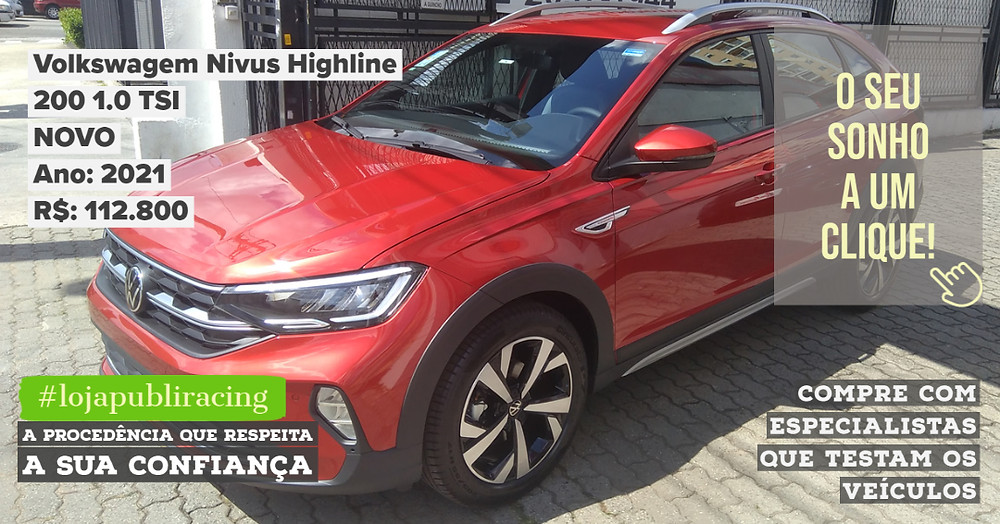 ACESSE #LOJAPUBLIRACING CLICANDO - Volkswagen Nivus NOVO