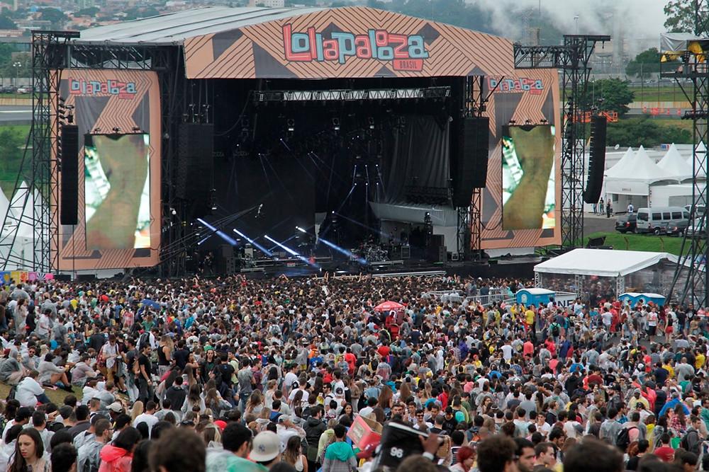 Festival Lollapalooza movimenta cerca de R$ 90 milhões no turismo de São Paulo