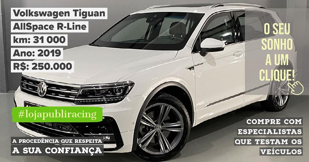 ACESSE #LOJA PUBLIRACING - Volkswagen Tiguan AllSpace R-Line