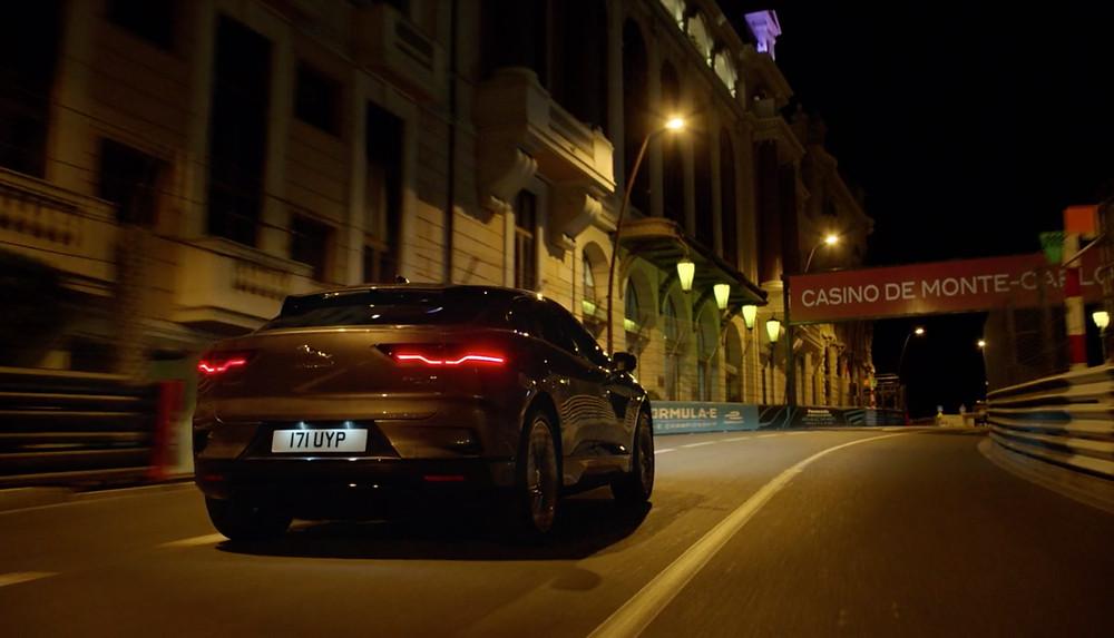 Novo modelo elétrico da Jaguar completou uma volta secreta ao circuito do Mônaco