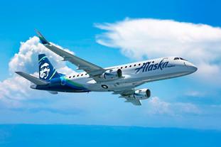 Aviação: SkyWest Airlines encomenda oito novas aeronaves E175 da Embraer para operação da Alaska Air